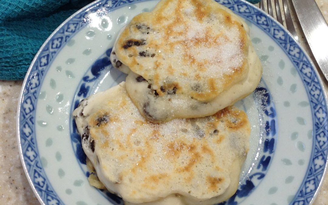 Raisin Pancakes,  Meal Plan 1, 2 and 10