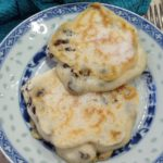 Raisin Pancakes, 8p per serving, Meal Plan 1