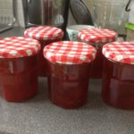 Plum Jam, 18p a jar if you have foraged fruit