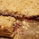 Jammy Oat Bars, breakfast or a snack. Savoury ones too