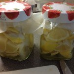 Preserved lemons, 70p a jar, or 37p if you can get Asda SP lemons