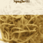 Spaghetti Bolognese made with an Italian recipe, just 41p