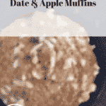 Fruit Trees, Date & Apple Muffins and Sugar Paste Flowers