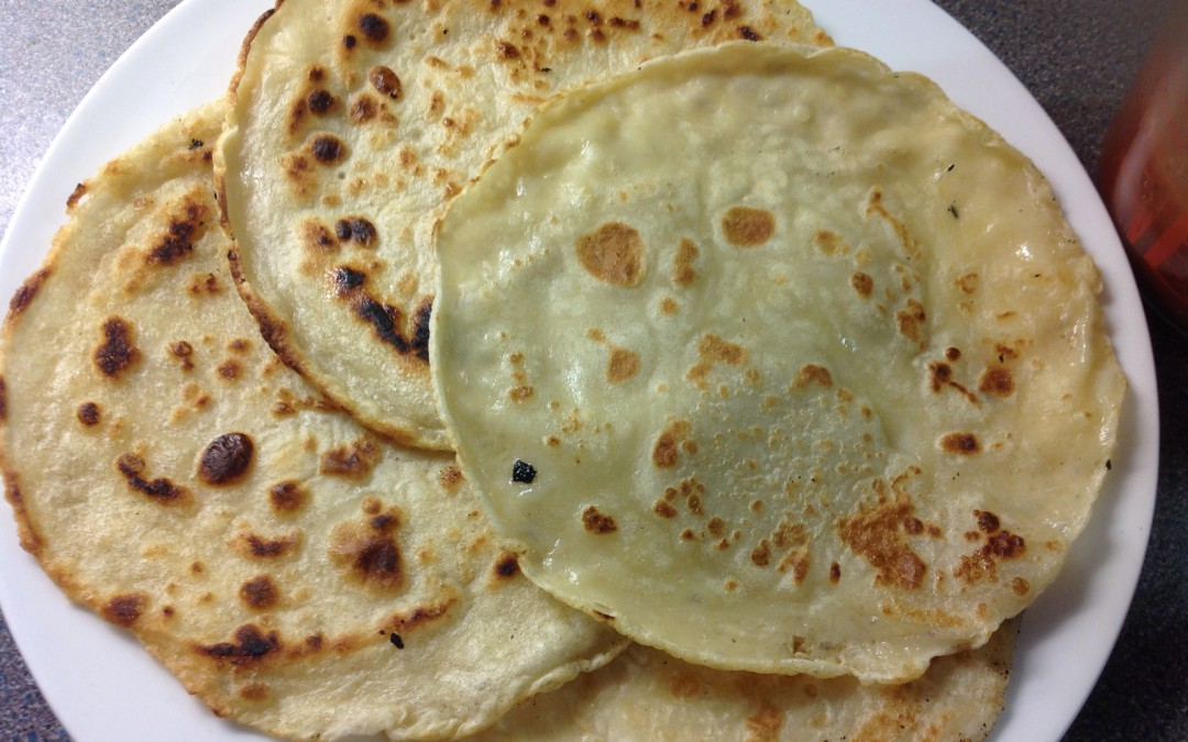 Pancakes, with lemon and sugar, the classic, less than 3p each