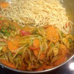 Abel & Cole Peanut Butter Noodles, 23p for the veggie version