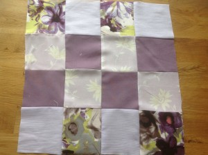 completed patchwork quilt panel
