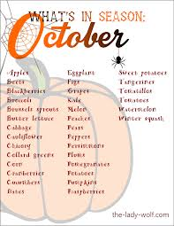 What's in season in October, can I grow anything in the garden now? and update on Action Aid