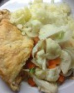 chicken and onion pie