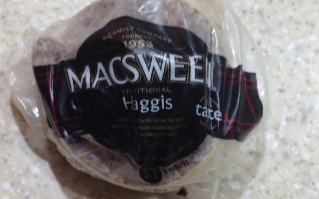 Working up Meal Plan 8 and Haggis & ideas on using it on £1 a day