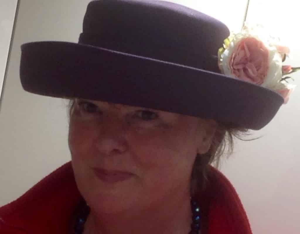 Hat and corsage
