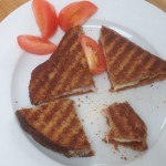 Cheese and Ham Toastie, 18p each