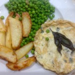 Herby Omelette, chips and peas 31p – Meal Plan 10