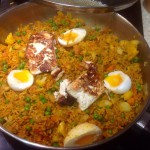 Fishless kedgeree, 64p, or use it as vegetable rice, 25p
