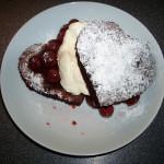 Valentines Choc Cherry Cake