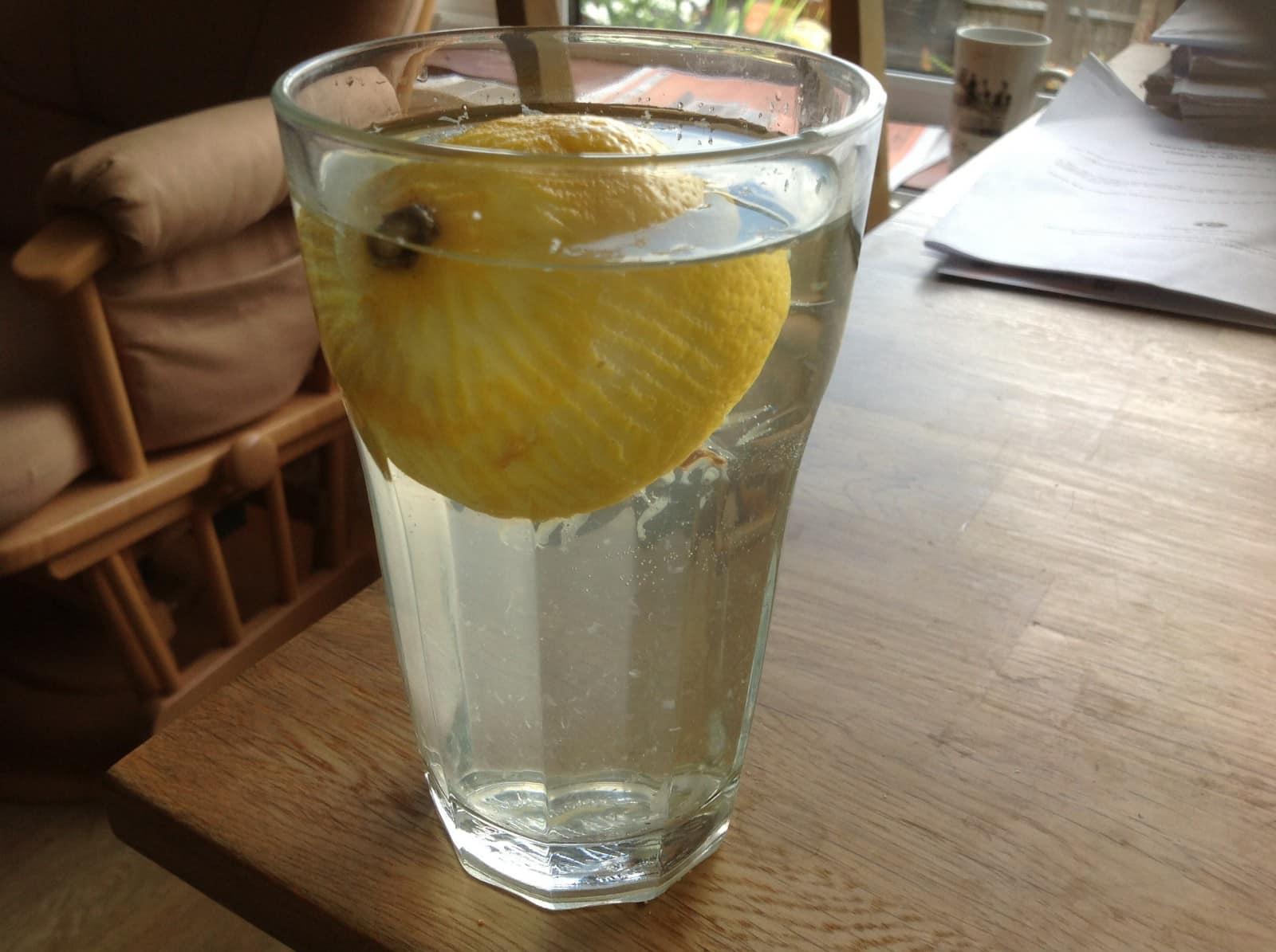 lemony water