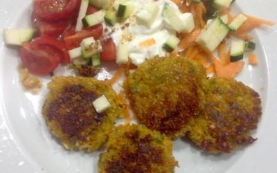 Carrot falafel