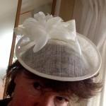 Wedding hats, knits, shrinkage and wild garlic