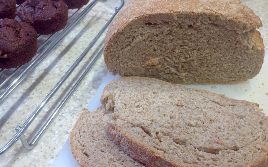 loaf made with chapatti flour