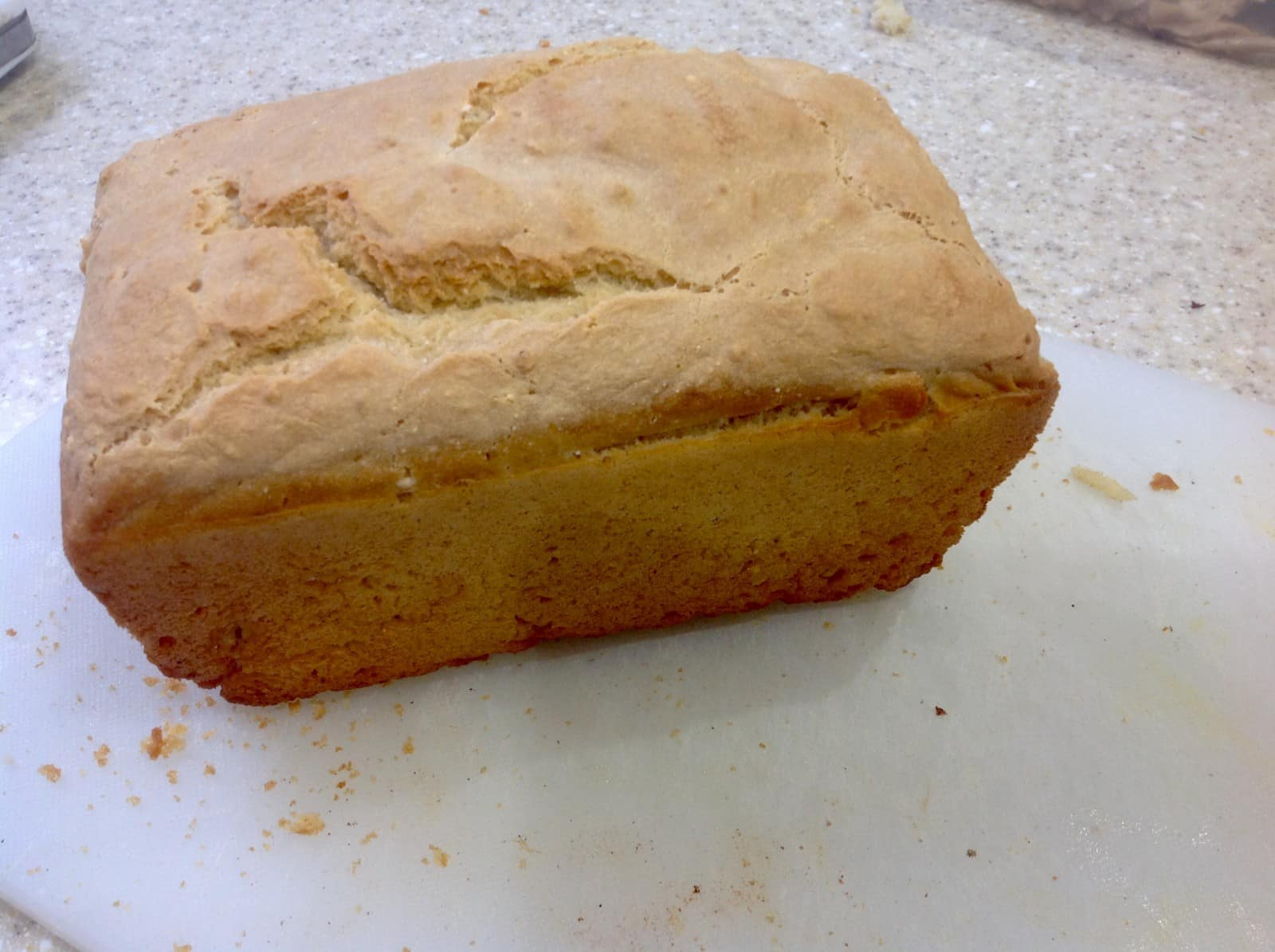 home made white loaf