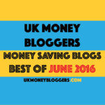 A long walk and UK Money Bloggers posts of the month for June 2016