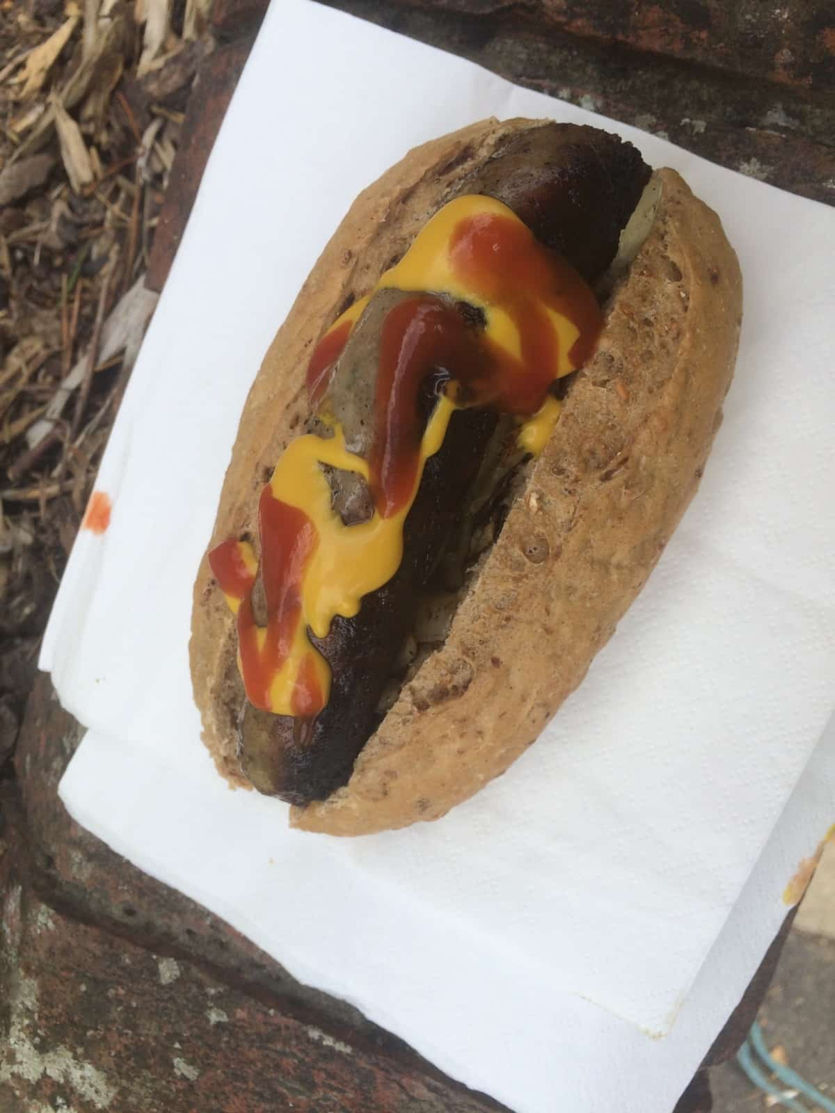 Goat hotdog