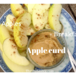 Apple Curd – a huge jar for 85p, and that's if you have to buy the apples!