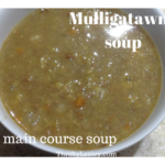 A main course soup – mulligatawny, 46p a big bowl