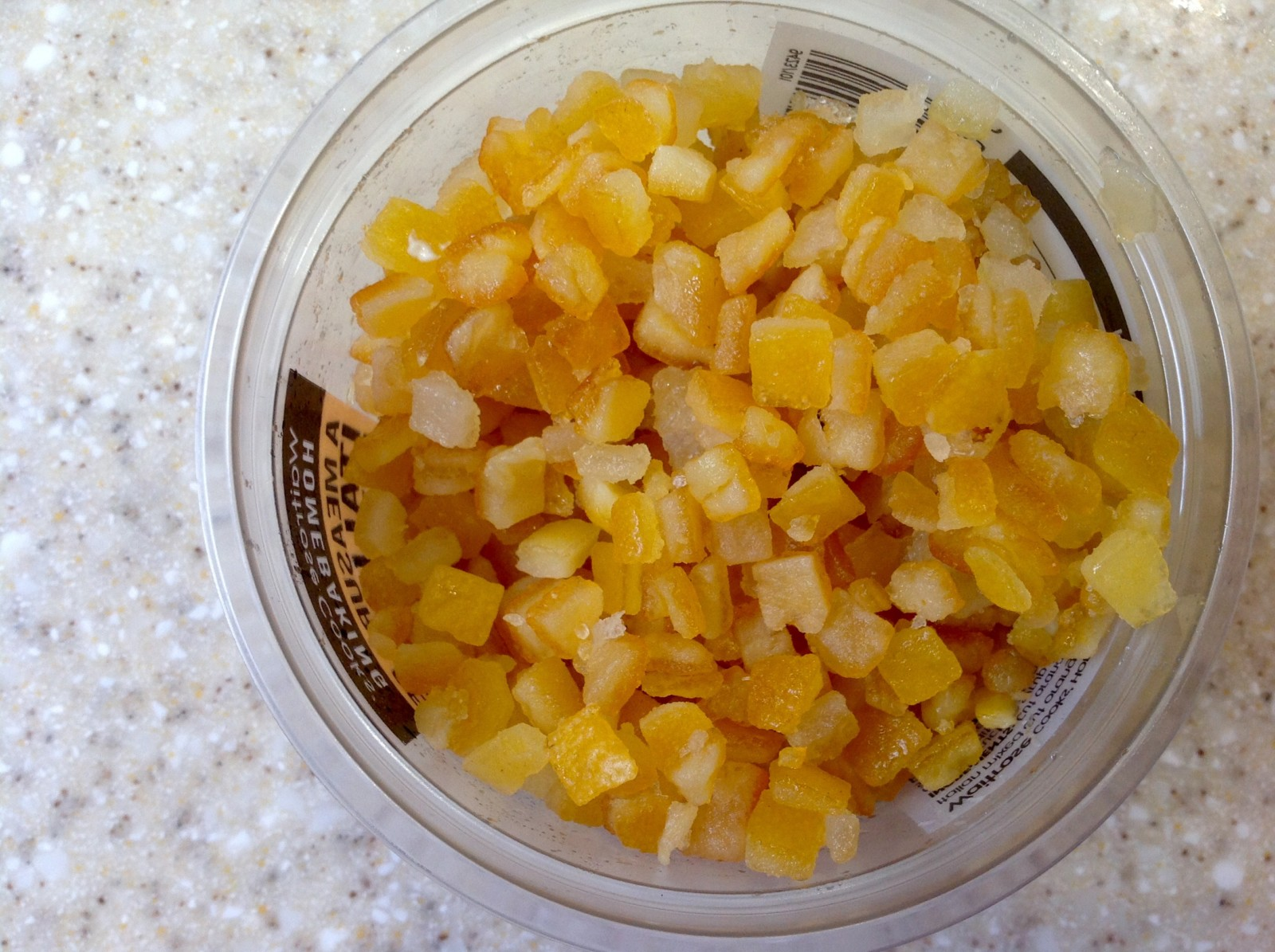 Candied peel