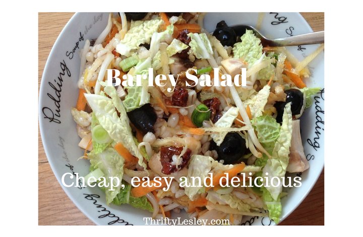 Barley Salad, 59p. Versatile, delicious and very easy to make