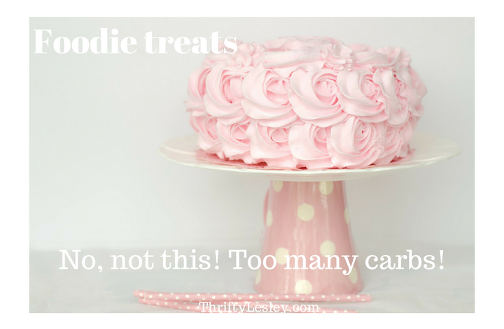 Rose covered cake