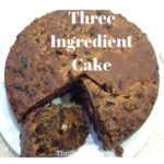 How to make a cake with just 3 ingredients, or maybe even 2! For when the SHTF?