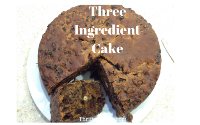 Three ingredient cake