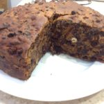 Three ingredient fruit cake