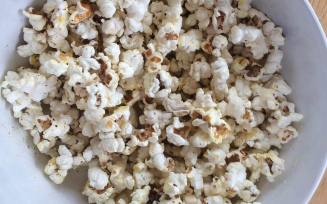 Home made popcorn, less than half the price of shop bought