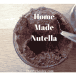 Home made Nutella. Improved nutrition for the same price!