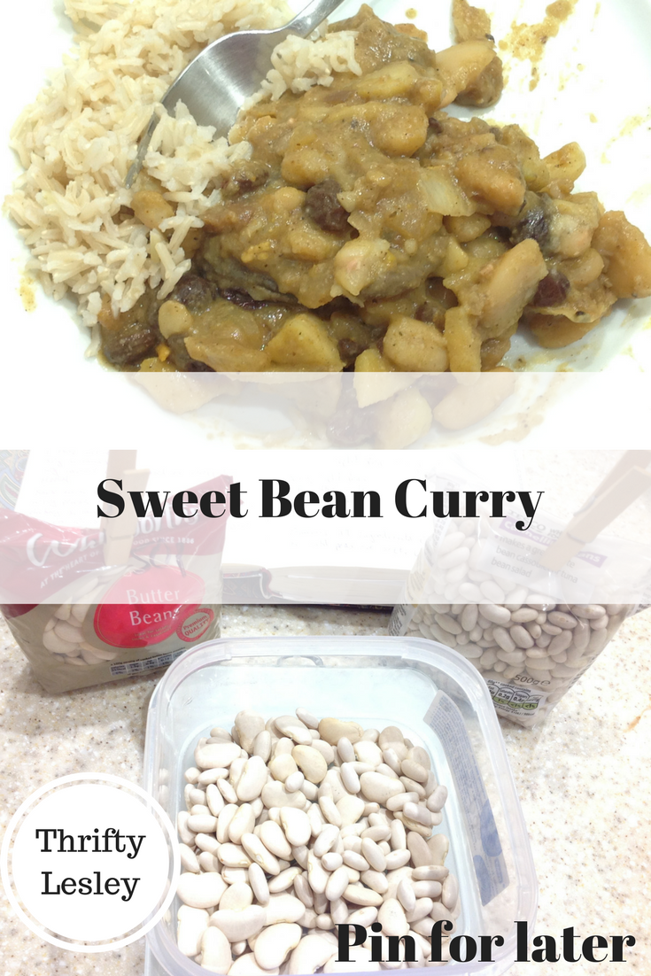 Sweet bean curry