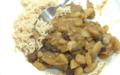 Sweet bean curry