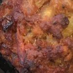 Pork meatballs with added veg and barley