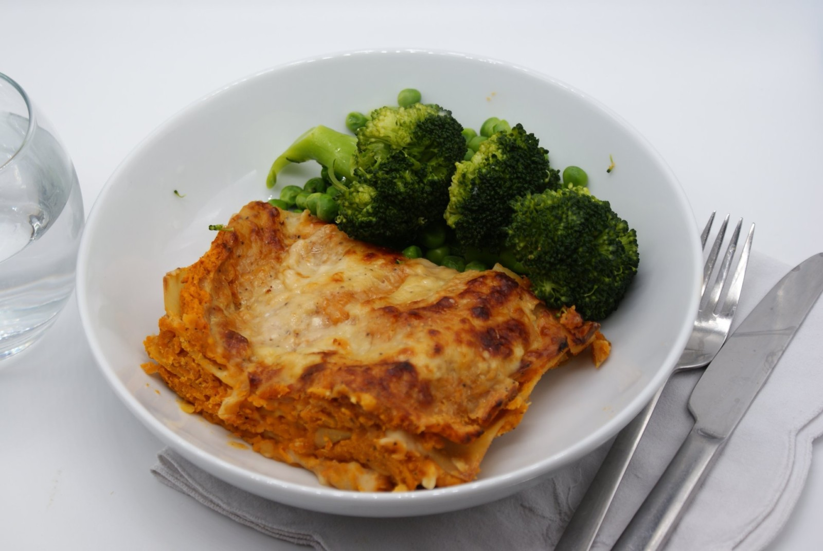 red lentil ragu lasagna for a budget dinner
