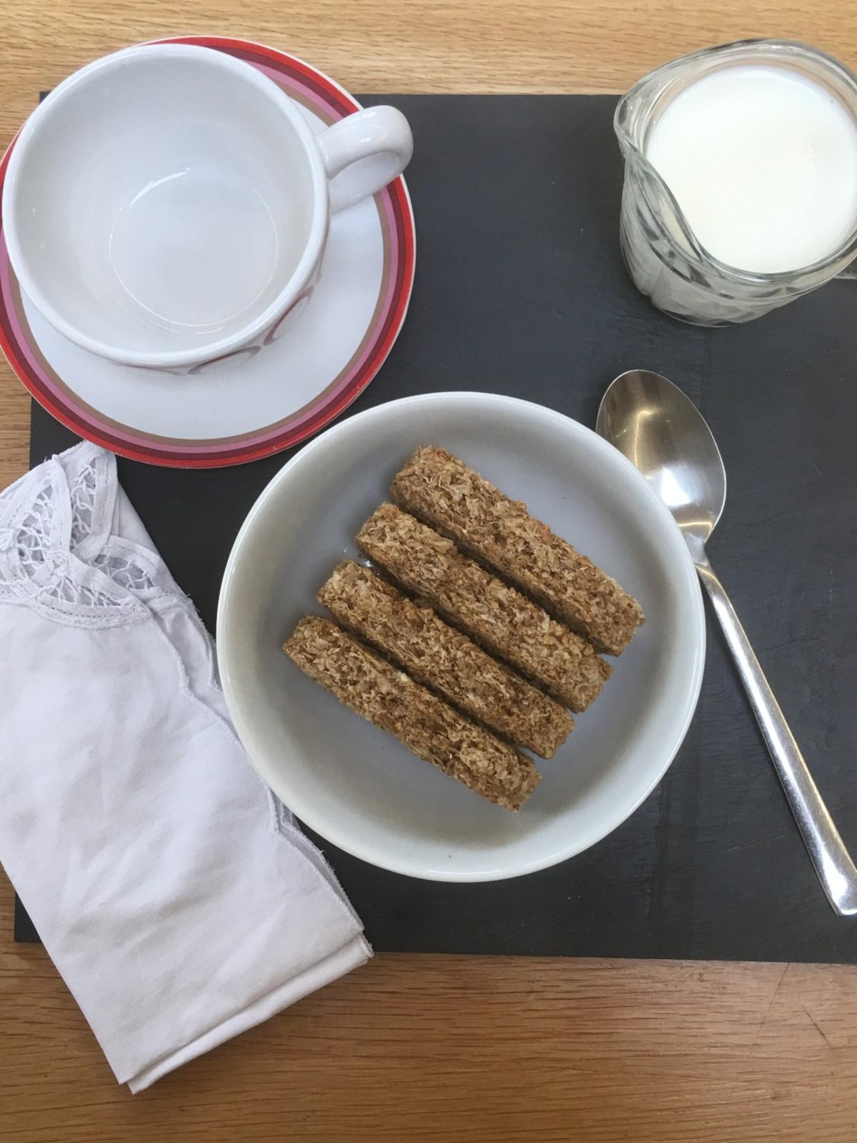 wheat bisks breakfast
