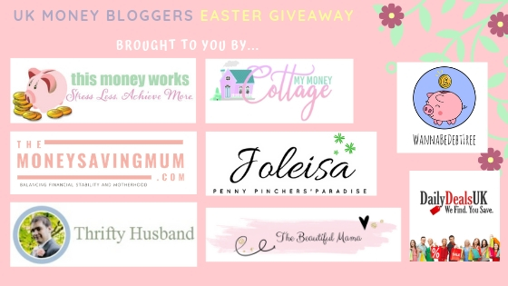 UK Money Blogger Easter Giveaway 3