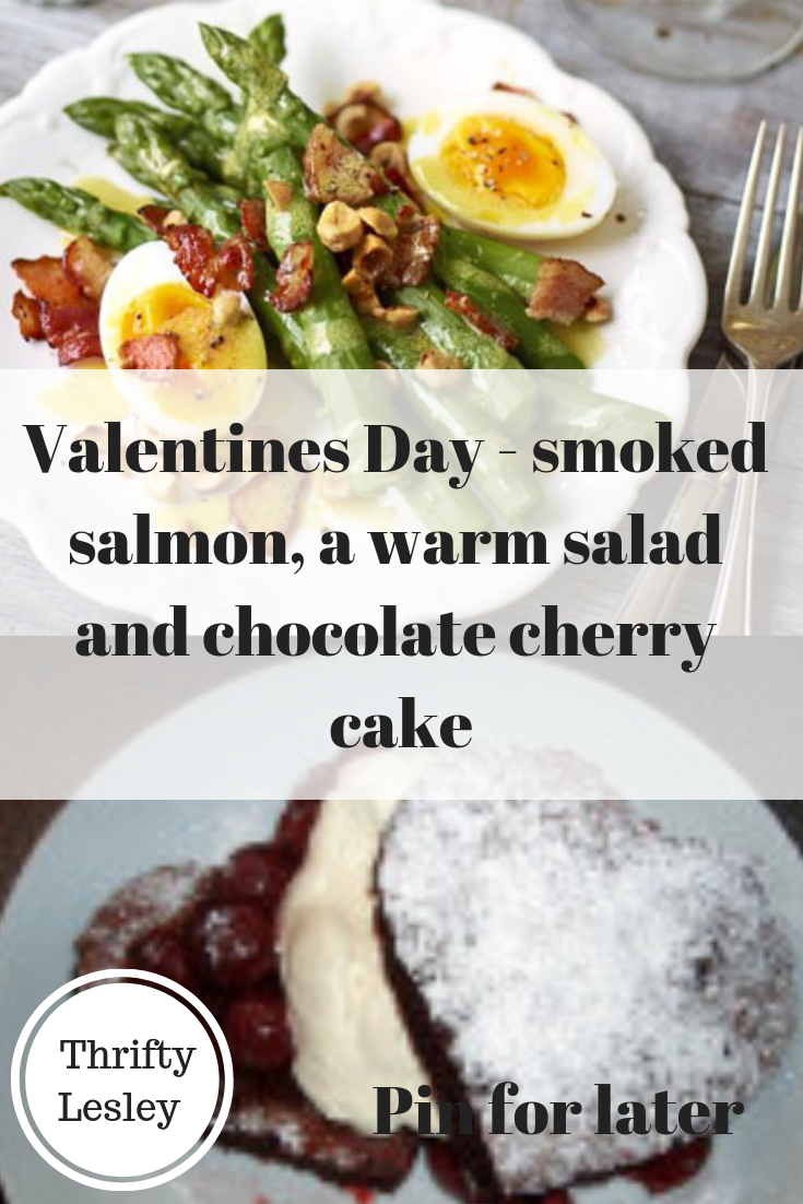 Valentine warm salad