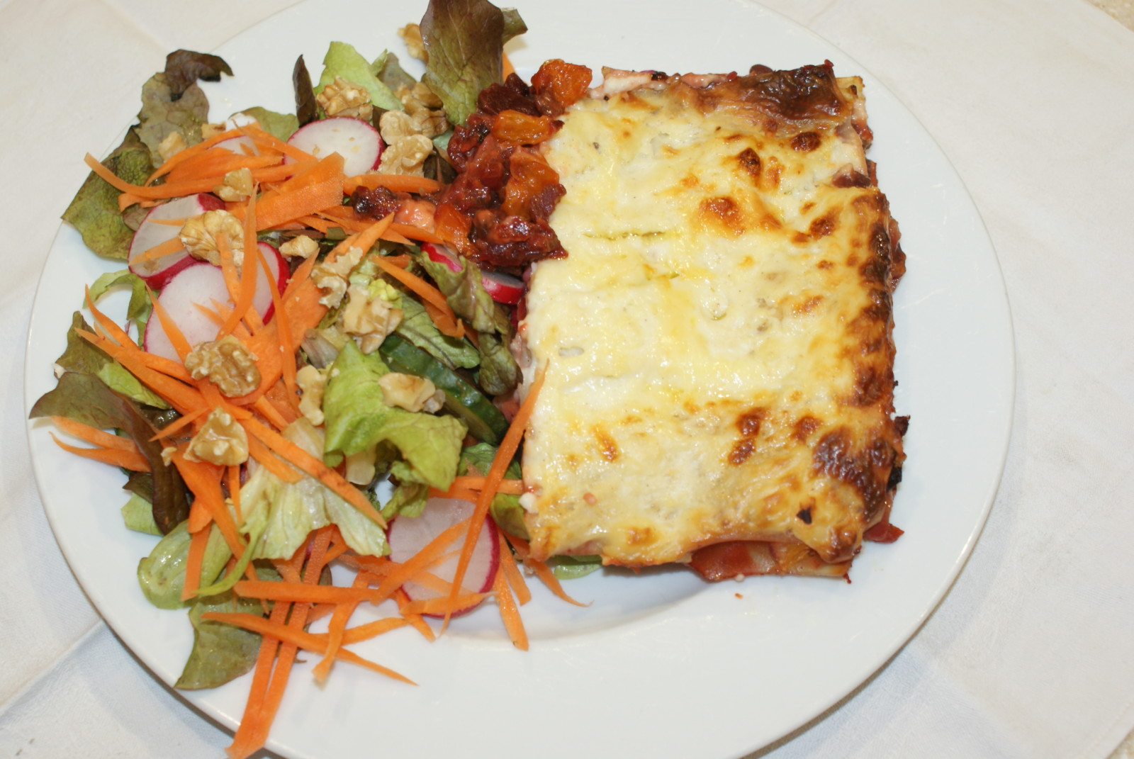 beetroot lasagna - vegetable lasagna