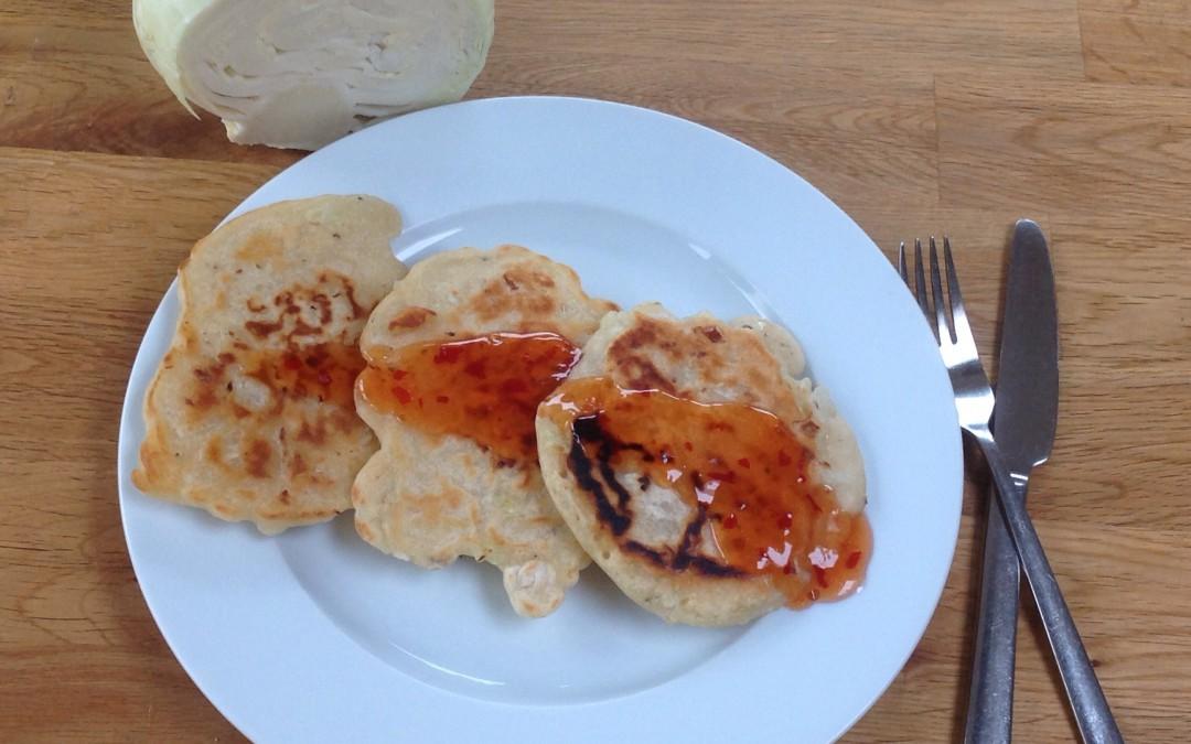 sweet chilli pancakes