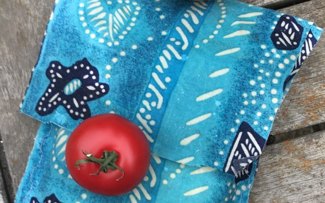 How To Make Beeswax Wraps & A Sandwich Bag for mere pence