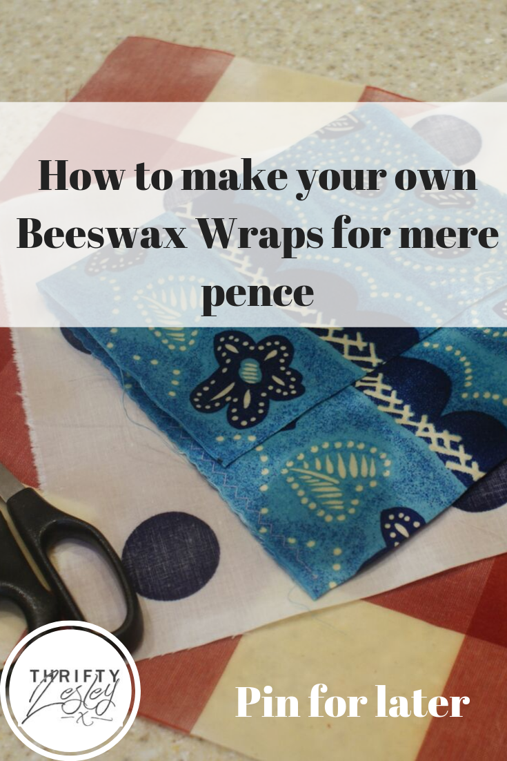 home made beeswax wraps